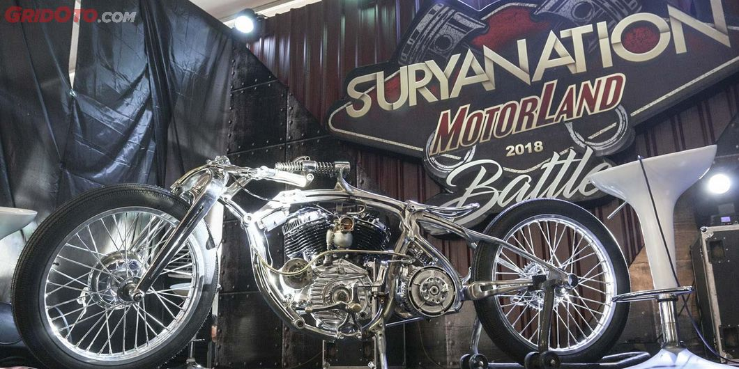Boardtracker,  Iconic bike Suryanation Motorland 2018 - Photo : Indra Kurniawan