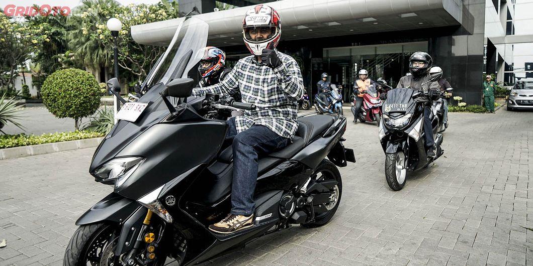 Shopee bersama GridOto.com gelar Sunmori bareng komunitas -  Photo : Rianto Prasetyo