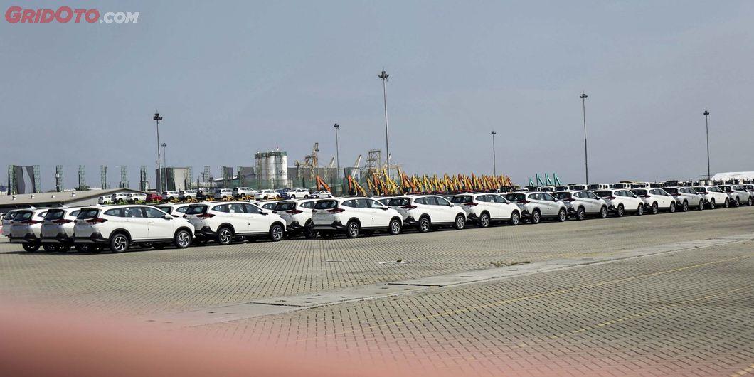 Rush, Seremoni Ekspor Sejuta Unit Toyota Indonesia - Photo: RR Inne Aveline