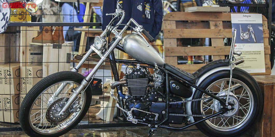 Display motor custom di  Custom Collaboration 2018. Photo : Indra Kurniawan