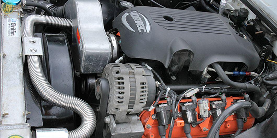 Mesin diganti menggunakan GM LS 6.0 V8