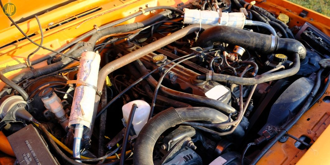 Kondisi mesin standar Cherokee tetap dipertahankan oleh Harry