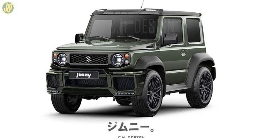 Modifikasi digital Suzuki Jimny oleh @c.h_design