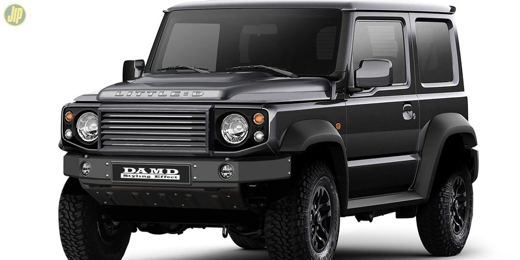 All New Jimny dengan body kit 'Little:D' mirip seperti Land Rover Defender