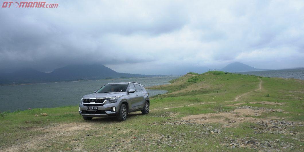 Test drive All New KIA Seltos di bendungan Jatiluhur, Purwakarta