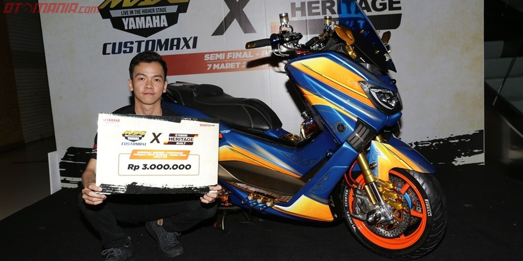 Pemenang kelas master Yamaha NMax