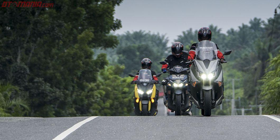 Perjalanan MAXI YAMAHA Tour de Indonesia etape west 2 Medan - Palembang, Photo : Rianto Prasetyo