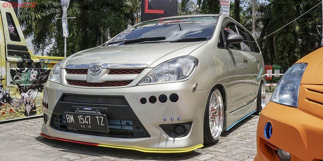 Innova Sporty, peserta MBtech Auto Combat seri 2 Pekanbaru 2018. Photo : Agus Salim