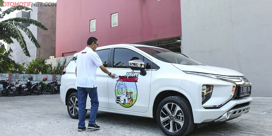 Enthusiast Xpander dari Surabaya saat XploreXpander Makassar. Photo: Gugum Gumilar