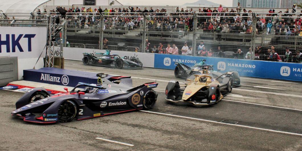 Balapan Formula E seri Hongkong
