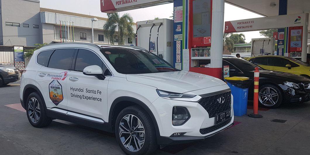 Hyundai Santa Fe XG 2.4 A/T di Holiday Fun Drive 2019