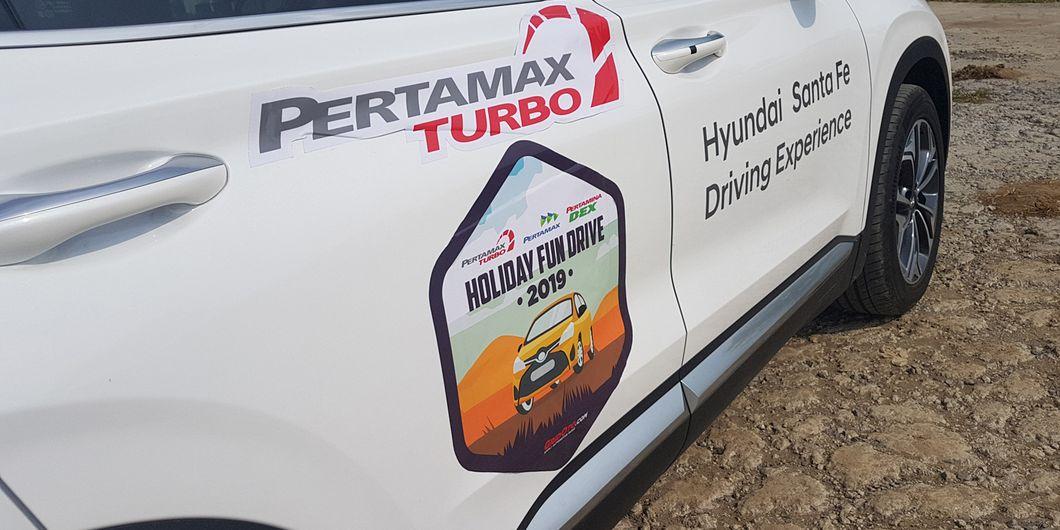 Hyundai Santa Fe XG 2.4 di Holiday Fun Drive  2019