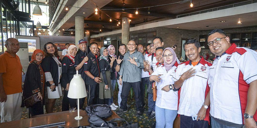 Komunitas pencinta Toyota Fortuner, id42ner dan Forci menjadi tamu dalam acara seremoni pelepasan Ti