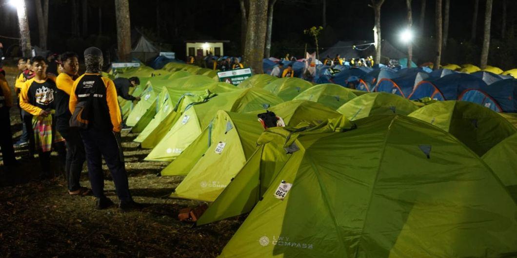 Serunya acara MAXI Yamaha Day 2019, saat camping di Coban Ronndo