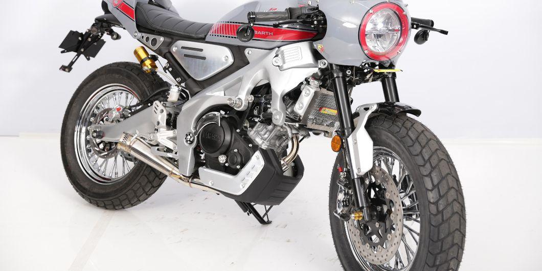 Yamaha XSR 155 Cafe Racer pemenang kelas Heritage Built di Pontianak