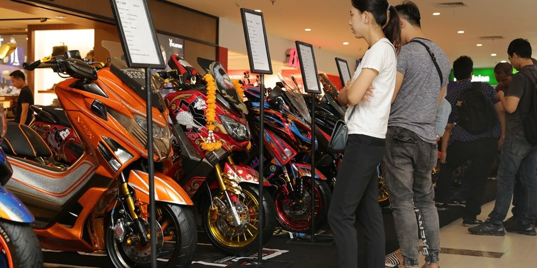 Semifinal Customaxi x Yamaha Heritage Built di Pontianak