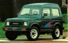 Ngidam Suzuki Katana Seken, Kenalan Dulu Modelnya Ada Apa Aja