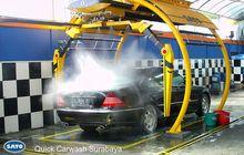 Kenalan Sama SATO, Pembuat Mesin Robotic Car Wash Asli Indonesia Yang Mendunia