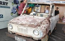 pikap suzuki carry tertua di indonesia ada di semarang, tampang ngenes distarter masih jreng!