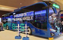 mantap, enggak lama lagi 30 unit bus listrik seliweran di jakarta