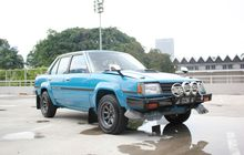 Toyota Corolla DX Bergaya Rally, Ditanam Mesin Turbo Kepunyaan Celica