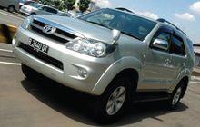 Layak Dipinang, Harga Toyota Fortuner V 4x4 2010 Cuma Tinggal Segini