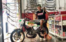 Murah Meriah! Sok Standar Custom Ini Mengantar RX King Super Pro Jadi Juara