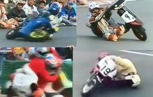 Video Gaya Menikung Paling Kocak, Gak Akan Ditemui di MotoGP!