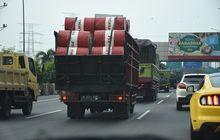 waduh,  angkutan barang masih bisa lewat jalan nasional selama libur lebaran