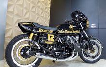 honda gold wing cafe racer, tribut untuk legenda f1 ayrton senna