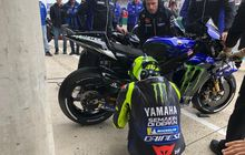 valentino rossi gagal podium di motogp prancis, ternyata segini selisih kecepatannya