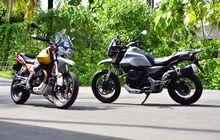 moto guzzi v85tt punya 2 varian warna, bedanya lumayan banyak juga loh