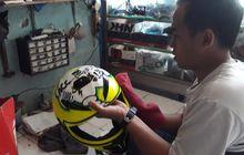 tujuh tahun berdiri, bengkel helm bisa cuci dan servis hingga coating!