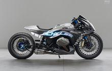bmw r1250rs drag bike, pakai bodi monokok sampai pelek 21 inci