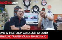 video review motogp catalunya: menguak tragedi crash tikungan 10