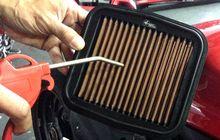 bagaimana cara merawat filter udara aftermarket yang bahannya beda?