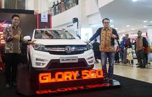 dfsk kenalkan glory 560 di palembang dan buka dealer baru di bandung