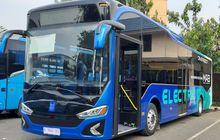ganjil genap diperluas, bptj tambah unit bus listrik demi tampung kenaikan penumpang