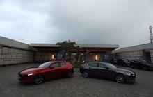 sesuai prediksi, all new mazda3 hatchback lebih laris ketimbang versi sedan selama empat hari pameran di giias 2019