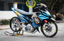 jupiter mx ala drag bike, livery sky racing team vr46 ikut nempel