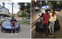 suka foto dengan mobil sport orang lain, bocah malaysia dibully, tak disangka tanggapan pemilik mobil begini!