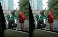 viral driver ojol beri jaket ke gelandangan, ini kronologi sebenarnya