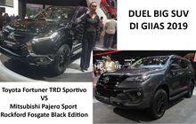 duel dua big suv baru di giias 2019, fortuner vs pajero sport