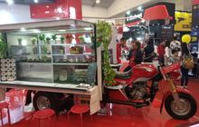 motor roda tiga nozomi buat usaha cafe, promo cashback rp 1,7 juta selama giias 2019