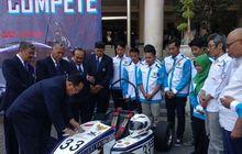 pakai mobil baru formula garuda 19, tim garuda uny pasang target 10 besar di ajang formula sae 2019