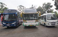 hino ajak 70 pengusaha merasakan impresi tiga bus terbarunya di bandung