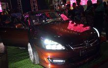 insipiratif, ini 2 mobil dengan modifikasi lampu terkece di pekanbaru