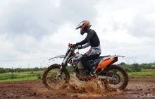 jangan pakai trail se saat belajar motor trail, ini kata juara nasional