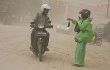dokter sarankan pemotor gunakan masker anti polusi, begini spesifikasinya