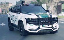 ghiath beast patrol suv, mobil polisi dubai yang bisa merekam wajah